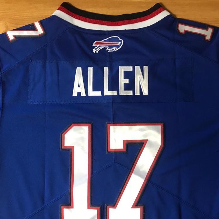 huge discount 7d1bd 2e905 Josh Allen Buffalo Bills Jersey