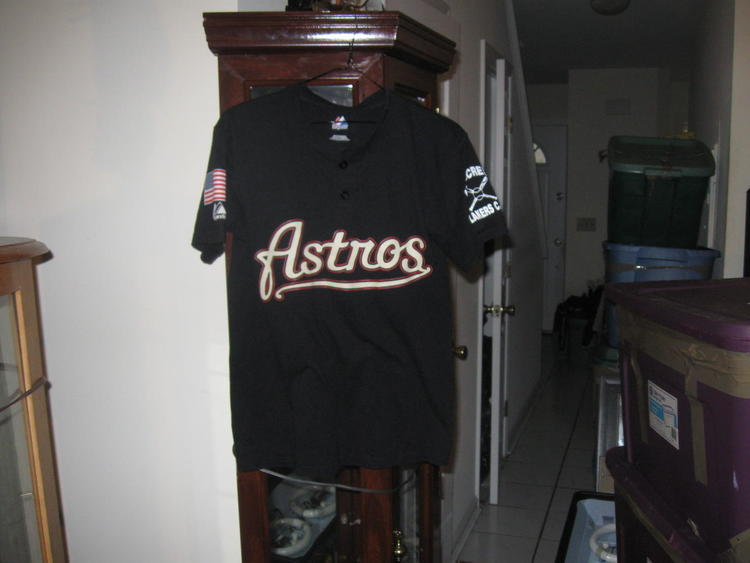 online store e983a d23ed ASTROS GEORGE SPRINGER YOUTH MAJESTIC TSHIRT JERSEY(L) PLAYOFFS!