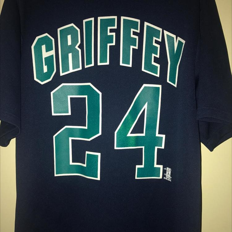 sports shoes 1820c 0ab7a Vintage Ken Griffey Jr Mariners Jersey