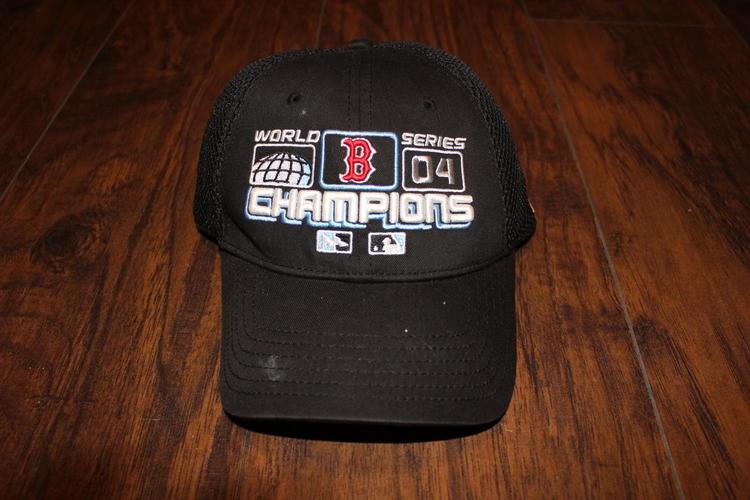 975ffb2bbccfd ... shop 2004 boston red sox new era world series champions stretch fit hat  9008e 7234f
