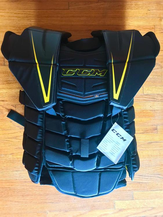 b6bed926287 New CCM Premier Pro Goalie Chest and Arm Protector Senior XL - SOLD