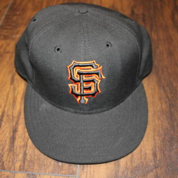 timeless design 4571b 7a34f ... free shipping denmark san francisco giants mlb vintage new era 5950  game hat size 7 3