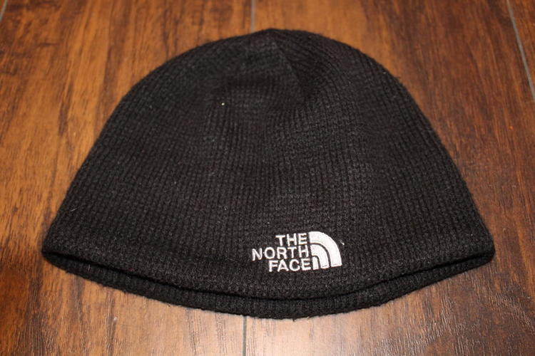 58fe156eb The North Face Black Winter Beanie hat