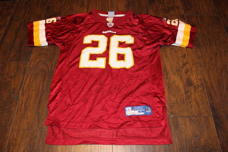 Clinton Portis Washington Redskins NFL Youth Reebok Jersey Sz Lg (14