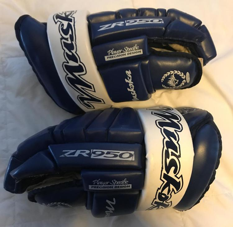 Muskoka Royal Blue Size 14 | SOLD | Hockey Gloves | SidelineSwap