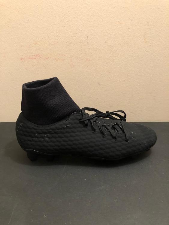 10554a9dd Nike Hypervenom Phelon 3 DF FG Cleats Black 917764-001 Men s Size 10.5