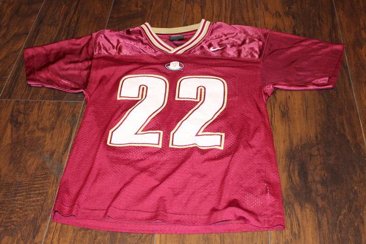 more photos d05e3 60cd9 Doug Flutie #22 Boston College Youth medium Nike Maroon Football Jersey