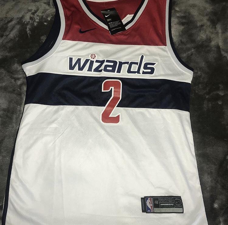 new style 92ee0 a49ee Black Friday FLASH SALE: Nike John Wall Washington Wizards Jersey Medium