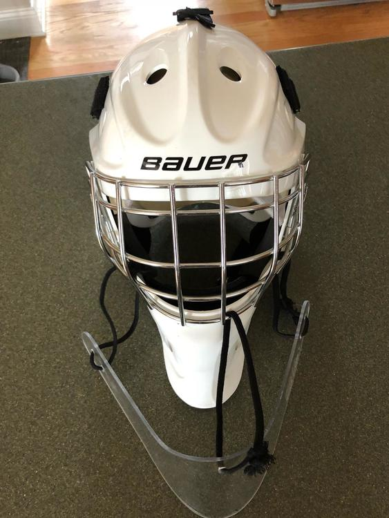Bauer Nme 3 Jr W Dangler Sold Hockey Goalie Sidelineswap