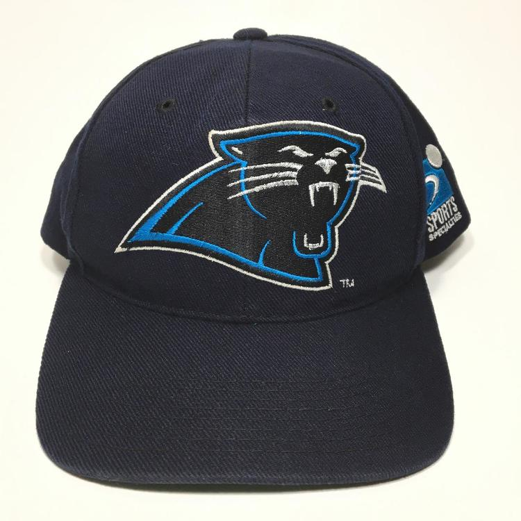 311f1b8ed28 Vintage Carolina Panthers Snapback Hat Sports Sports Specialties Plain Logo