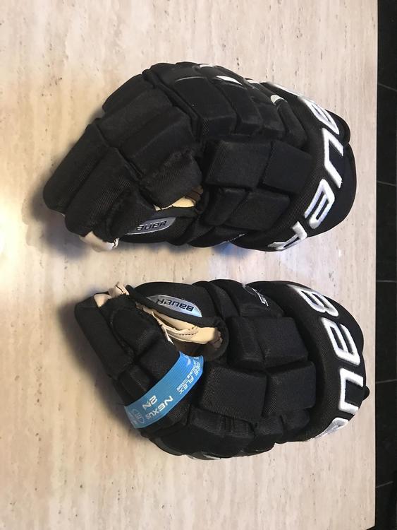 e2acb271c91 Bauer Nexus 2N Senior Hockey Gloves (Black 15