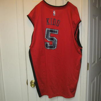 3bbc250dd Reebok NJ NETS JASON KIDD ALTERNATE JERSEY(4XL)RARE!