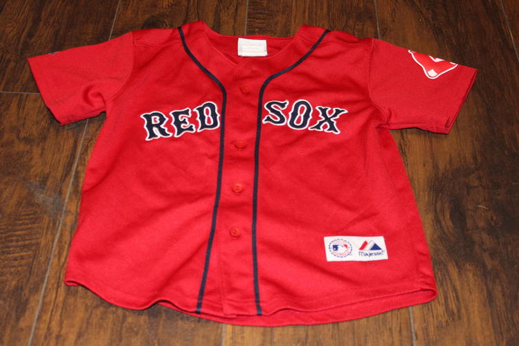 1339f5d4a David Ortiz Toddeler Size 7 Majestic Athletic Red Sox Red jersey ...