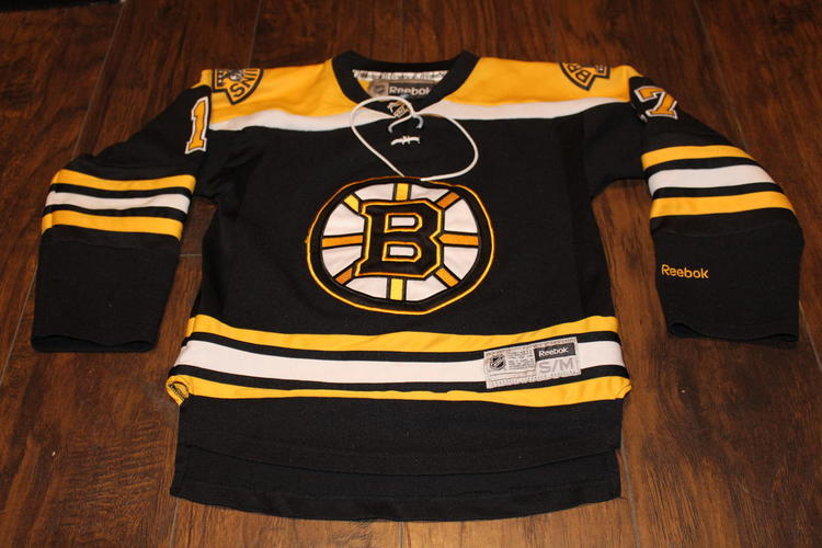 hot sale online 1c9fd 3349f Milan Lucic Boston Bruins Reebok Premier black youth small/medium jersey