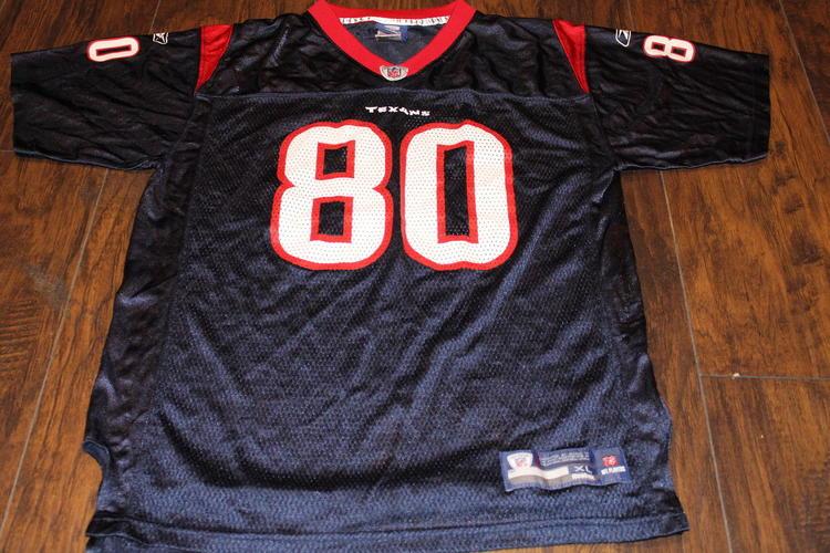 Andre Johnson Houston Texans Reebok Youth XL (18-20) Jersey