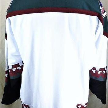 VINTAGE 90 S STARTER PHOENIX COYOTES (XL) RETRO PULLOVER KNIT NHL HOCKEY  JERSEY. Comments (0) Favorites (18) e2ae28edd