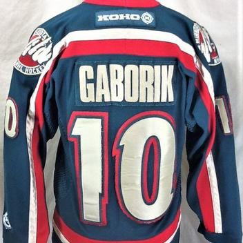 VINTAGE KOHO MARIAN GABORIK  10 MINNESOTA WILD (SMALL) STITCHED GREEN NHL  HOCKEY JERSEY. Comments (0) Favorites (6) 1f8b7b0d1