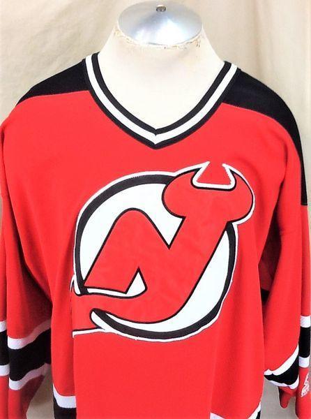 brand new 1cbfe 4520b VINTAGE 90'S STARTER NEW JERSEY DEVILS (XL) RETRO NHL PULLOVER KNIT JERSEY  | Hockey Apparel, Jerseys & Socks | SidelineSwap