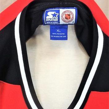 cb2480c74 VINTAGE 90 S STARTER NEW JERSEY DEVILS (XL) RETRO NHL PULLOVER KNIT HOCKEY  JERSEY. Comments (0) Favorites (7)