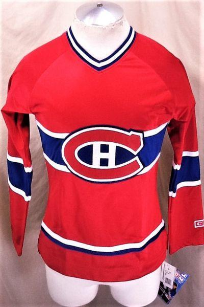 5c0c8b68 CCM NEW! MONTREAL CANADIENS (SMALL) CLASSIC NHL WOMEN'S JERSEY ...
