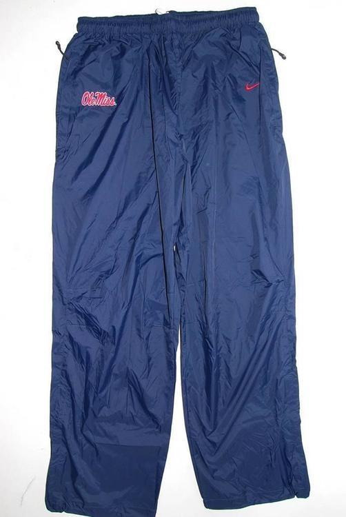 NEW Nike Ole Miss Rebels - Navy Nylon Wind Pants (Multiple Sizes) ZZ-238 No  Trades 3da77248b