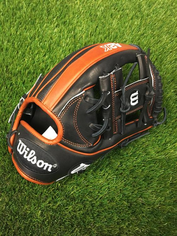 "Wilson A2K 1787 Super Skin 11.75/"" Infielders Baseball Glove WTA2KRB191787SS"