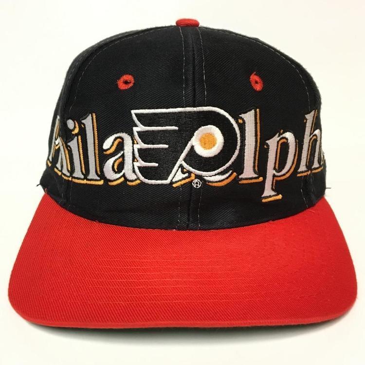 Vintage Philadelphia Flyers Snapback Hat 5e57c060c39