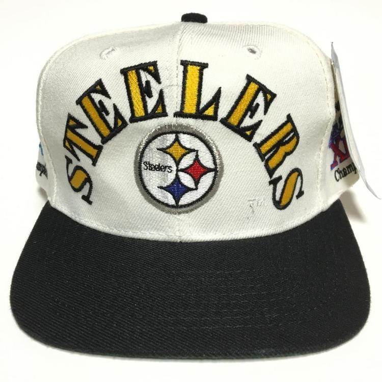 Vintage Pittsburgh Steelers Snapback Hat by Annco (New With Tags) - SOLD c4cc030fbca