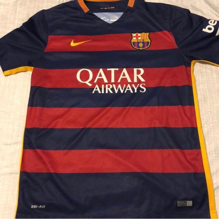 pretty nice 2444a 5fe1a Men's Nike Authentic Barcelona Jersey