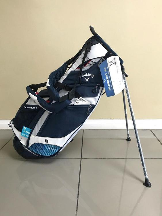 buy online los angeles hot sale online Callaway 2018 New Fusion 14 Stand Bag [Navy/White/Red]*No Trades ...