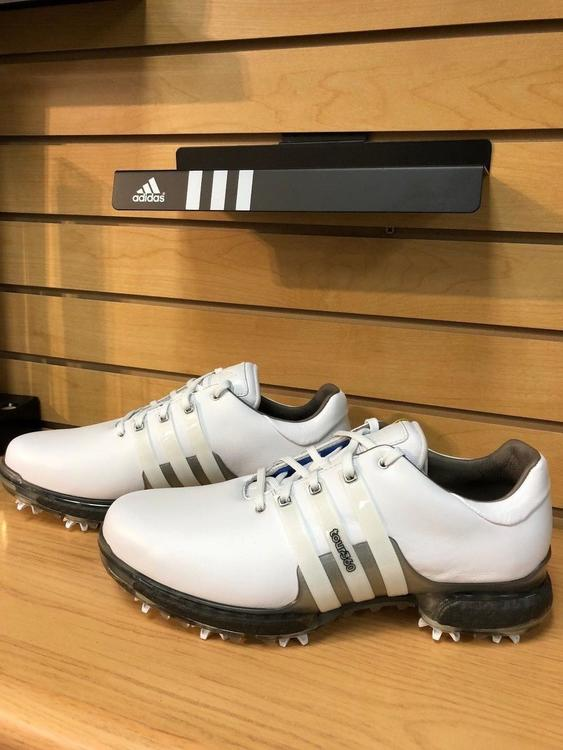 4cd706610f9 Adidas New 2018 Tour 360 Boost 2.0 White Shoes (F33795) Size  7-12  Wide    No Trades