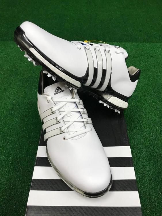 461a2978abb3 Adidas Tour 360 Boost 2.0 Shoes White Black (Q44939) Size  7-12  Wide   No  Trades