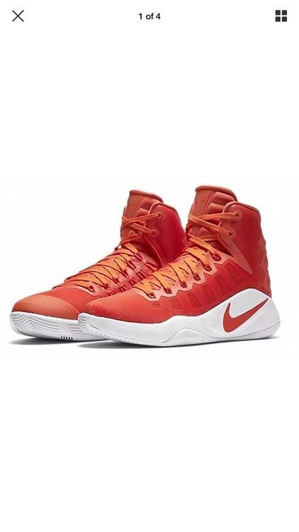 446d2efa6651 Nike Womens Hyperdunk 2016 TB Orange Basketball Shoes 10.5 Medium 844391