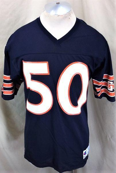 size 40 a61a8 acec3 VINTAGE 90'S CHAMPION CHICAGO BEARS (MEDIUM) MIKE SINGLETARY #50 NFL  FOOTBALL JERSEY