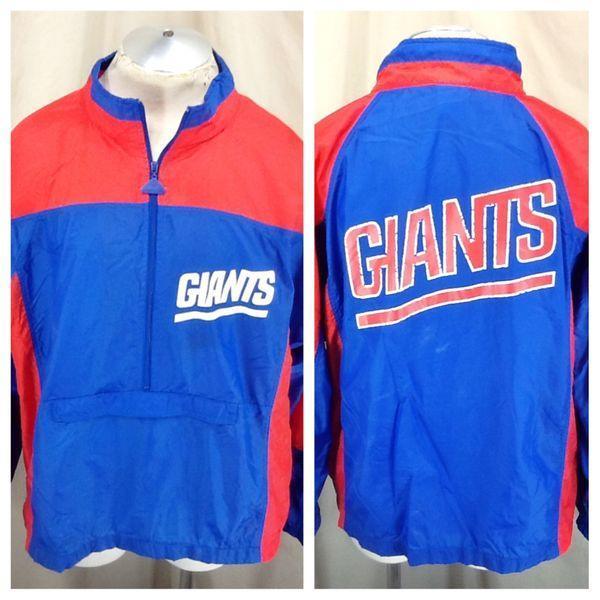 c80410388 Vintage 90 s Apex-One New York Giants (XL) NFL Football Zip Up Windbreaker  Jacket - SOLD