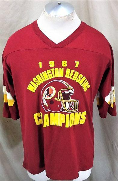online store ae168 0d887 VINTAGE 1987 WASHINGTON REDSKINS FOOTBALL (XL) DIVISION CHAMPION GRAPHIC  T-SHIRT