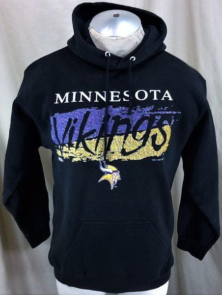 VINTAGE 1994 MINNESOTA VIKINGS (LARGE) RETRO NFL PULLOVER HOODED SWEATSHIRT   46c19bcb5405