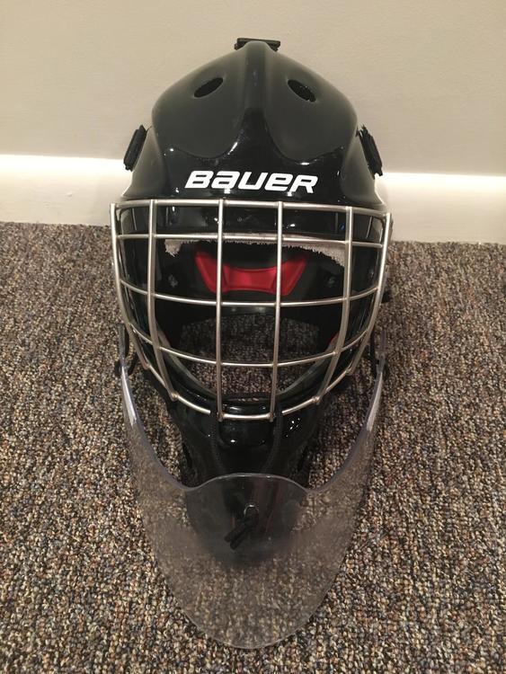 8153f77496f Bauer NME 7 Goalie Mask - Fit 3