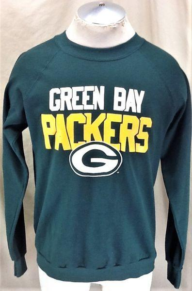 promo code b2099 59530 VINTAGE 90'S GREEN BAY PACKERS (LARGE) RETRO GRAPHIC NFL FOOTBALL SWEATSHIRT