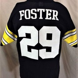 VINTAGE 90 S LOGO 7 PITTSBURGH STEELERS BARRY FOSTER  29 (MEDIUM) RETRO  GRAPHIC NFL FOOTBALL JERSEY. Comments (0) Favorites (0) d9f122c1f