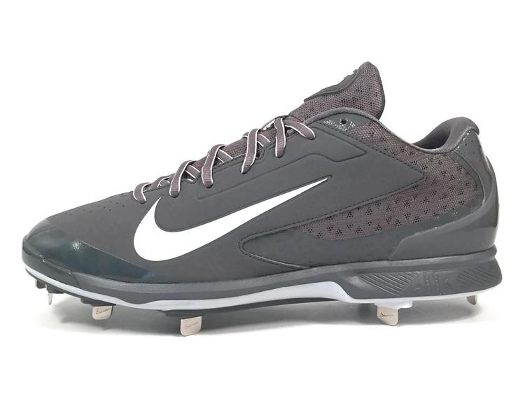 new product f7f62 9f14f Nike New Air Huarache Pro Low Metal Men s Cleats sz 13 Grey White  599233-015   Baseball Footwear   SidelineSwap
