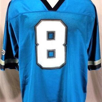 5ce7fe518 VINTAGE LOGO ATHLETIC JACKSONVILLE JAGUARS MARK BRUNELL #8 (XL) NFL  FOOTBALL GRAPHIC JERSEY