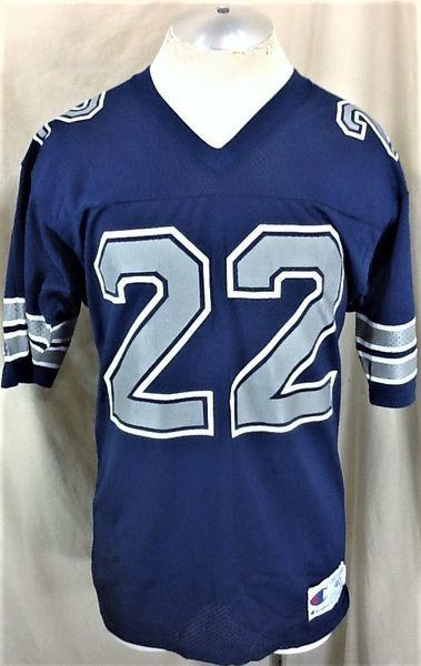 detailed pictures fe827 62adb VINTAGE 90'S CHAMPION DALLAS COWBOYS EMMITT SMITH #22 (MEDIUM) NFL FOOTBALL  JERSEY