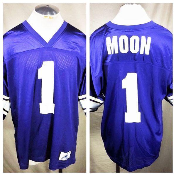 brand new 6871a 9eccc VINTAGE APEX ONE WARREN MOON #1 MINNESOTA VIKINGS (XL) RETRO NFL FOOTBALL  JERSEY