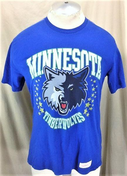 MITCHELL   NESS MINNESOTA TIMBERWOLVES (LARGE) RETRO GRAPHIC NBA SHIRT  3b7dc6559