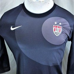 d505f667dad NIKE TEAM USA MEN S SOCCER TEAM (MEDIUM) DRI-FIT GRAPHIC 1 2 SLEEVE FUTBOL  JERSEY. Related Items