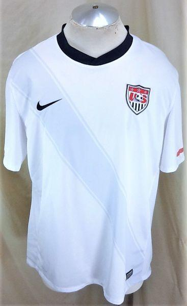77c3aa3e27e NIKE AUTHENTIC DRI-FIT TEAM USA FUTOBOL (XL) RETRO WORLD CUP SOCCER JERSEY. Related  Items