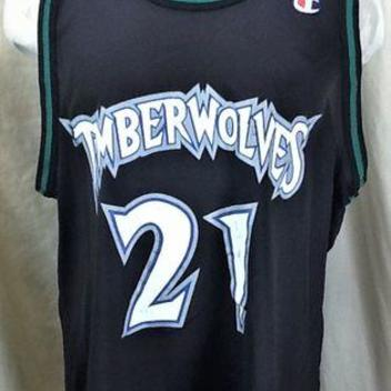 meet 4b337 21e2b release date timberwolves 21 retro garnett black throwback ...