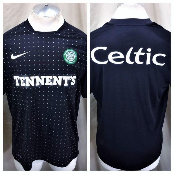 8420a3504 NIKE AUTHENTIC THE CELTIC FUTBOL CLUB F.C. (LARGE) DRI-FIT GRAPHIC SOCCER  JERSEY