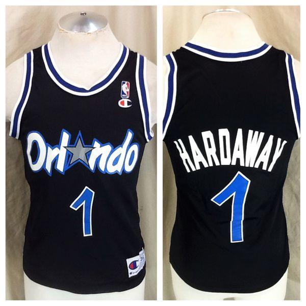quality design cc478 fc5ee VINTAGE CHAMPION PENNY HARDAWAY #1 (36/SMALL) ORLANDO MAGIC NBA BASKETBALL  JERSEY
